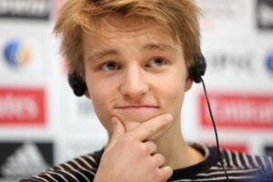 Odegaard, jóven futbolista noruego de 16 años